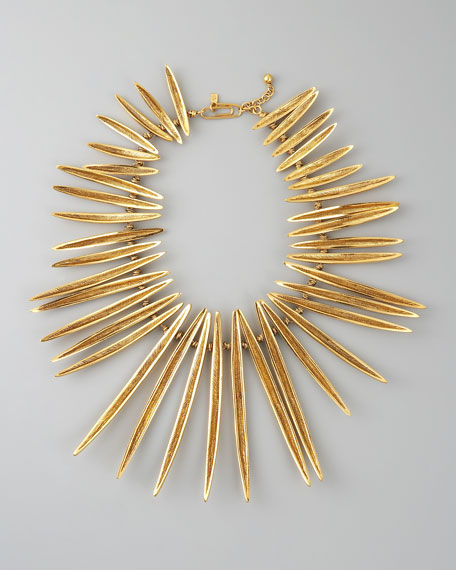 Long-Spike Necklace