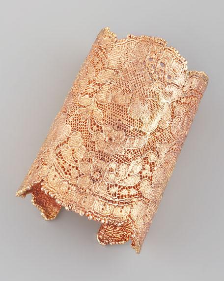 Lace Cuff, Rose Gold