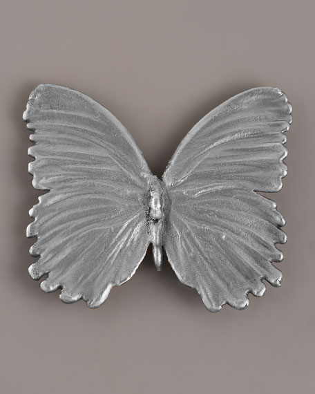 Silver Butterfly Pin