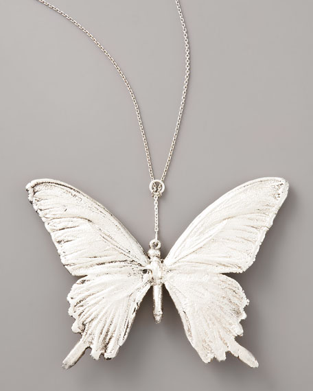 Butterfly Necklace, Sterling Silver