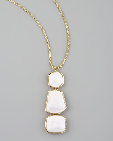 Triple-Drop Pendant Necklace