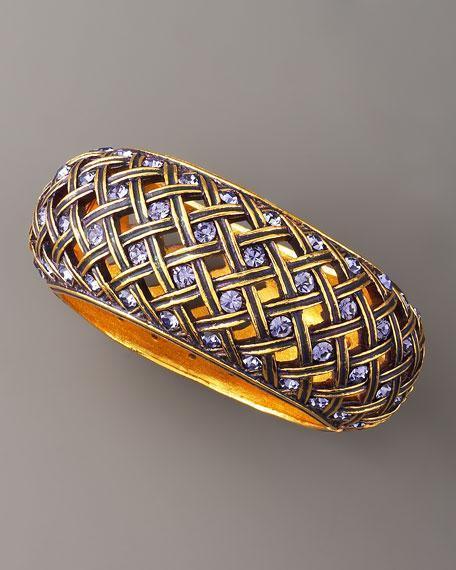 Crystal Latticework Bracelet