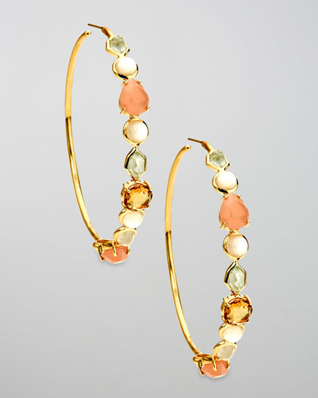 Hoop Earrings, Silk Road