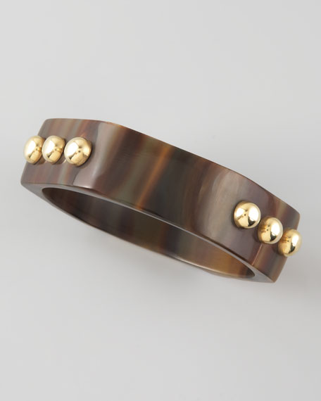 Tisa Studded Horn Bangle