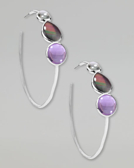 Scultura Hoop Earrings
