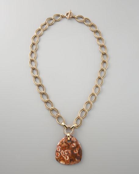 Ryolite Pendant Necklace