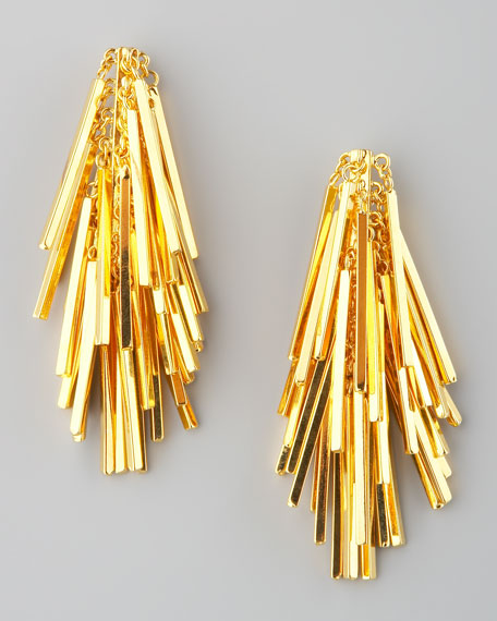Tinsel Drop Earrings