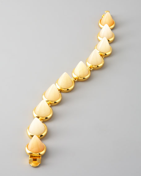 Aragonite Cone Bracelet