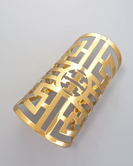 Labyrinth Cuff, Gold