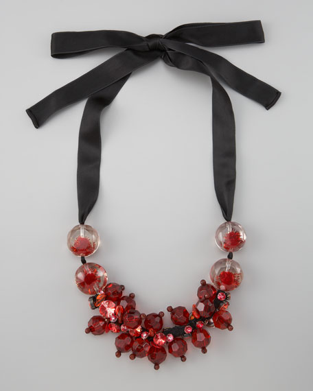 Clustered Beads Necklace