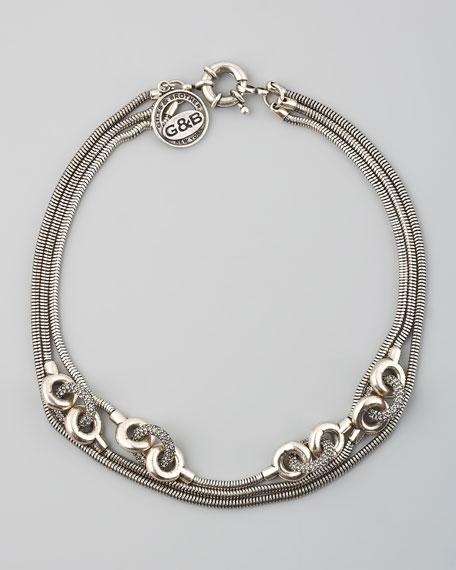 Short Chain Archer Necklace