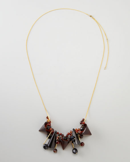 Cone-Bib Necklace