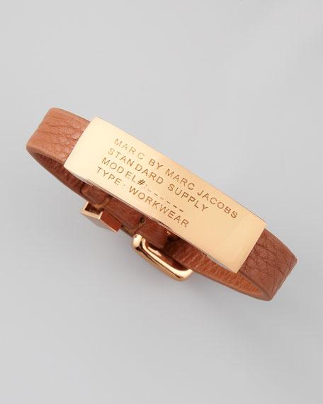Standard Supply ID Bracelet, Brown
