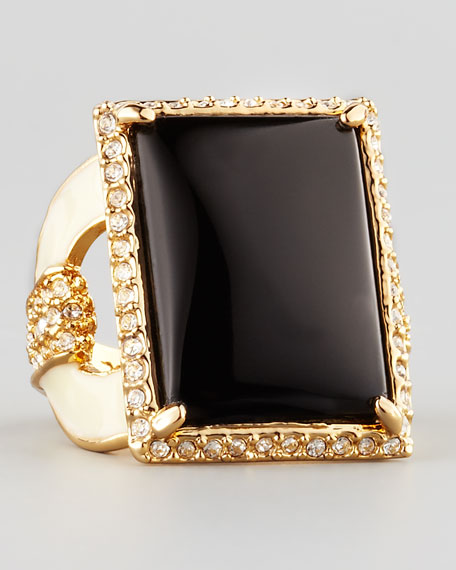 Square Ring, Black