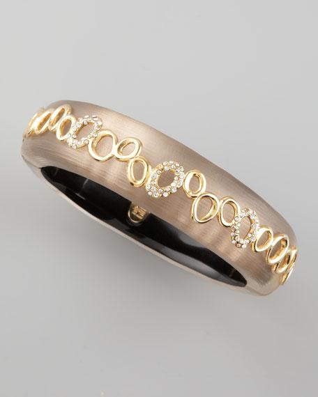 Modular Eternity Eyelet Bracelet