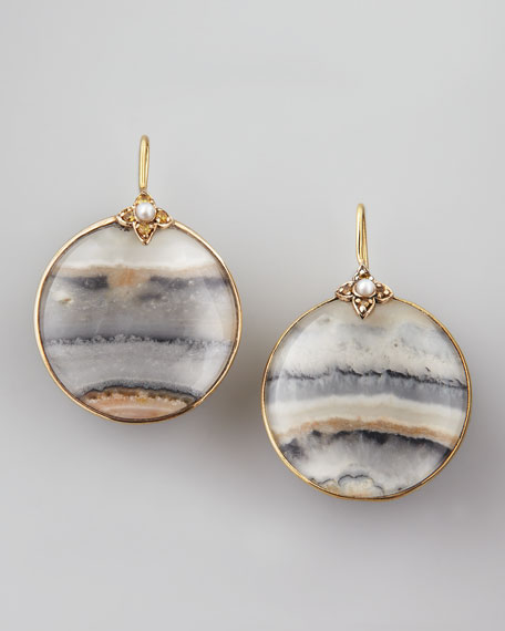 Round Jasper Earrings
