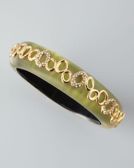 Lucite Eternity Bracelet