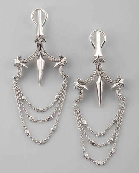 Pave Chandelier Earrings