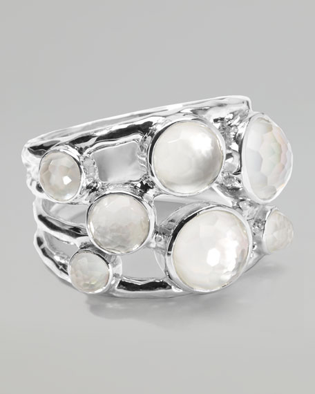 Constellation Ring, Mother-of-Pearl