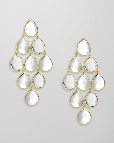Ondine Mother-of-Pearl Cascade Earrings