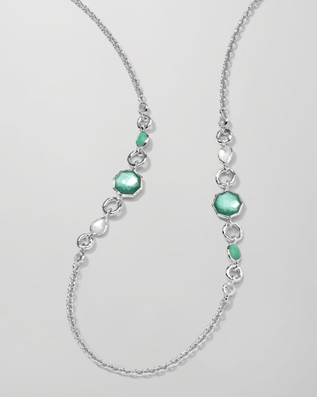 Wonderland 2-Station Necklace, Mint