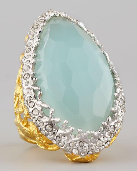 Siyabona Peruvian Chalcedony Ring