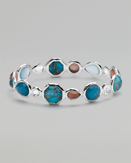 Multi-Stone All-Around Bangle