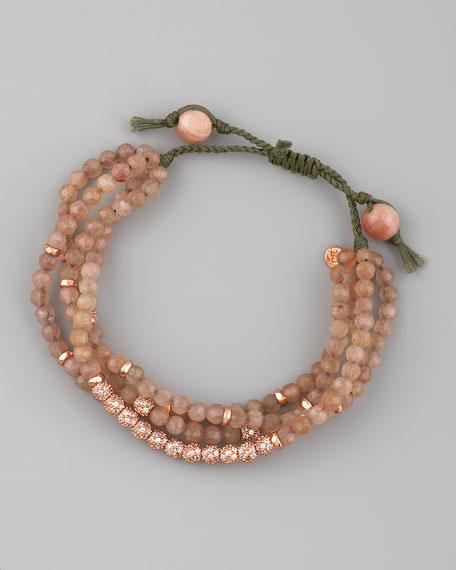Four-Strand Agate Bracelet