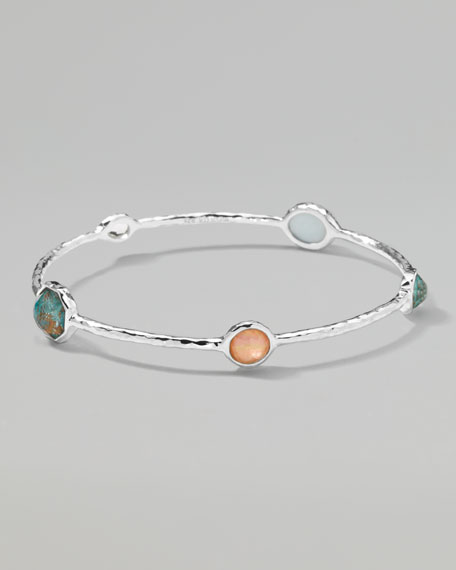 Wonderland Five-Station Bangle