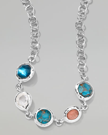 Wonderland Five-Stone Station Necklace
