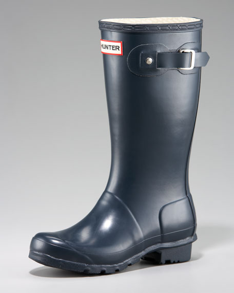 Youths' Original Welly Boot, Navy
