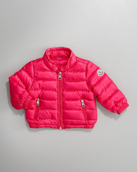 Acorus Packable Jacket, Hot Pink