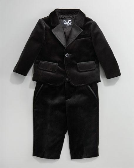 Velvet Tuxedo, 3-24 Months