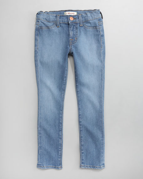 Skinny Lullaby Jeans, Lalla/Light Indigo