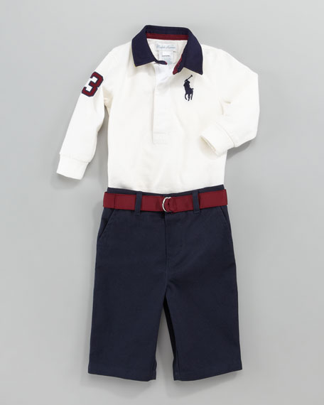 Rugby Shirt and Pants Set