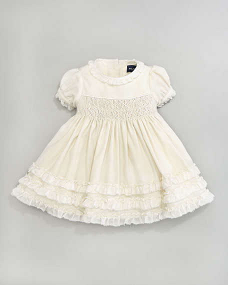 Smocked Ruffled Dress