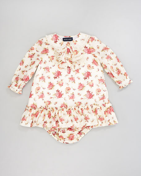 Floral Ruffle Dress, 12-24 Months