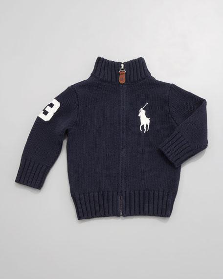 Big Pony Zip Sweater