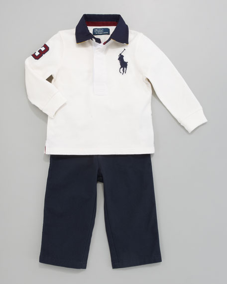 Rugby Shirt & Pants Set