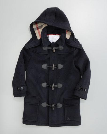 Unisex Mini Toggle Coat, Navy