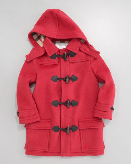 Unisex Toggle Coat, Mallow Pink