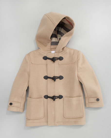 Toggle Coat, Camel