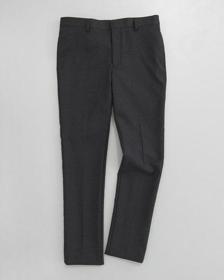 Gabardine Suit Pants