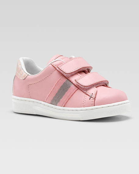 Ace Double GG Sneaker, Pink