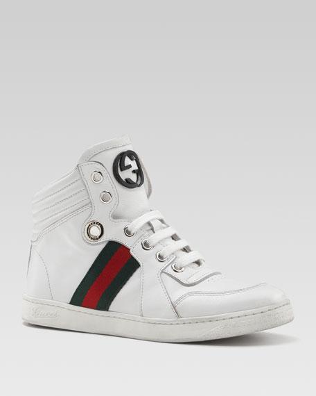 Coda GG Hi-Top Sneaker, White