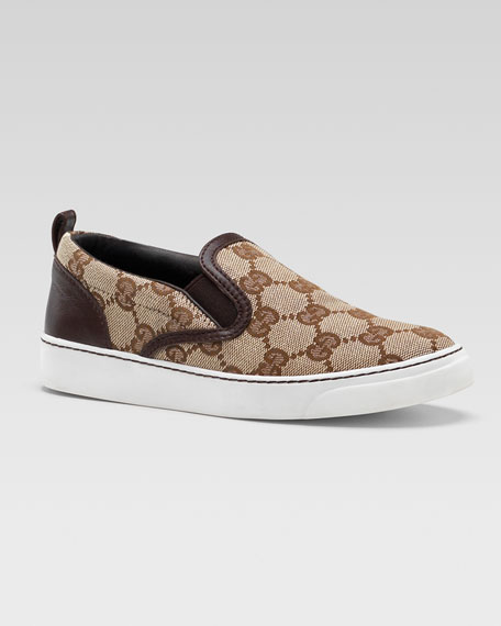 Board GG Slip-On Sneaker, Brown