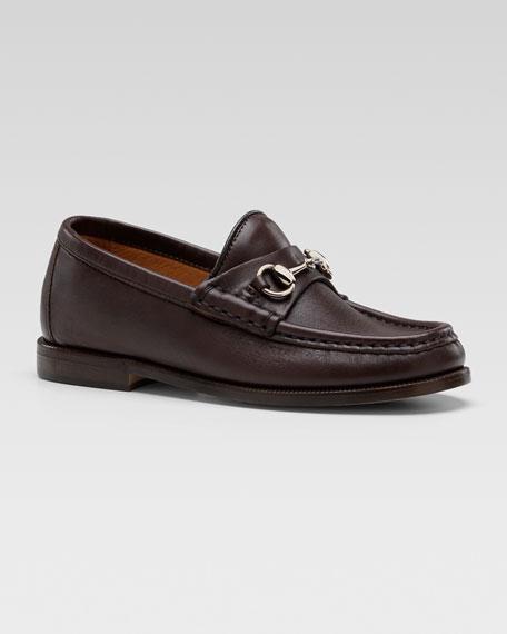 Classic Horsebit Loafer, Cocoa