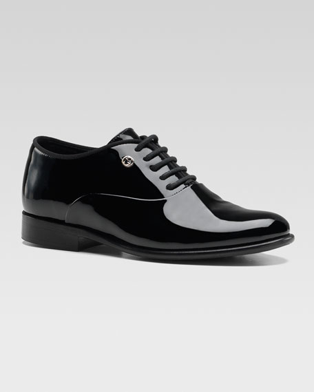 Heep Patent Tuxedo Shoe