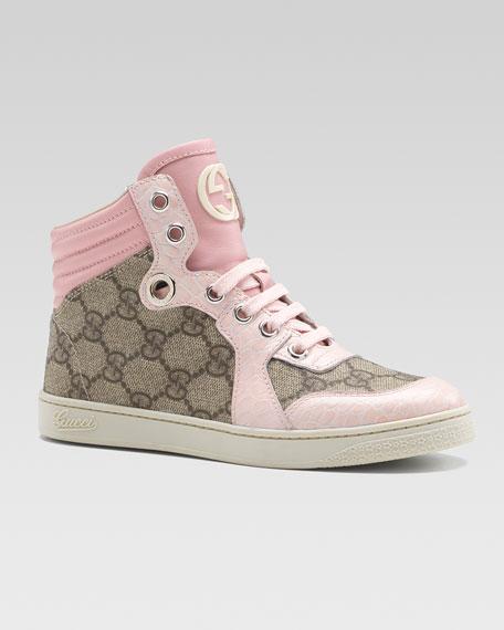 Coda GG Hi-Top Sneaker, Pink