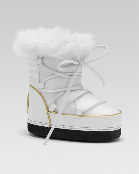 009347c75717 Gucci Fur-Lined Snow Boot